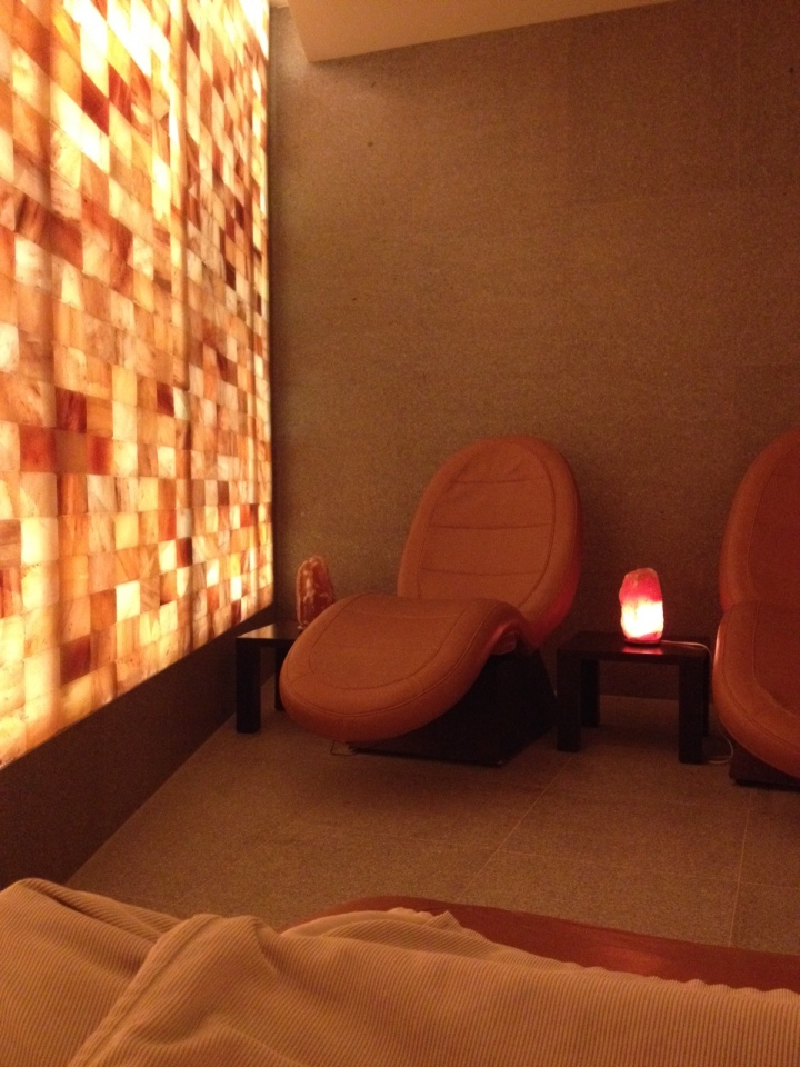 Aria Las Vegas Spa Salt Room