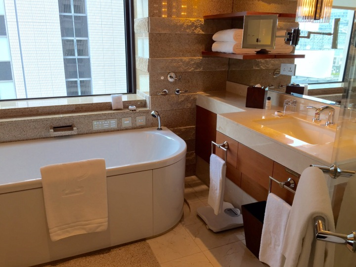Peninsula Tokyo Bathroom