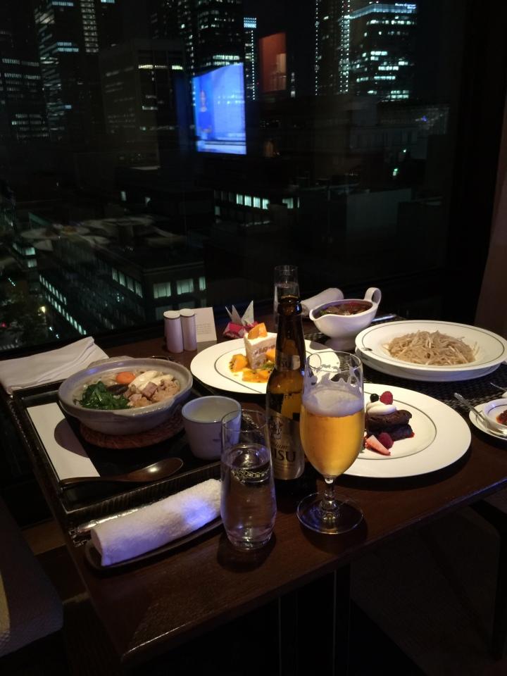 Peninsula Tokyo Dinner Room View