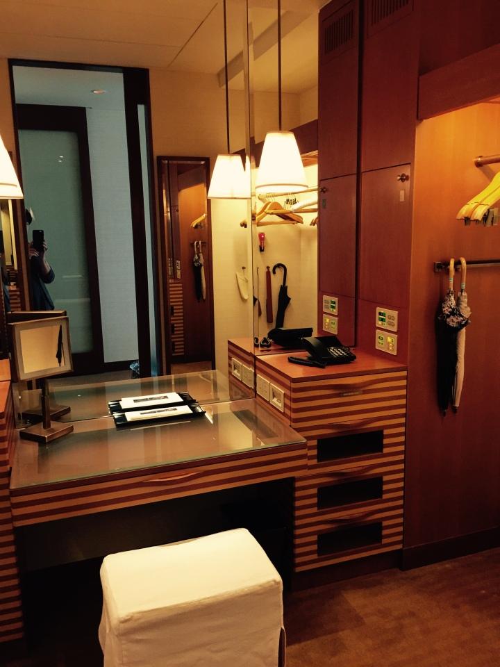 Peninsula Tokyo Dressing Area Closet