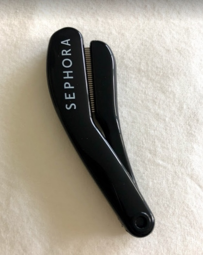 sephora lash comb folded